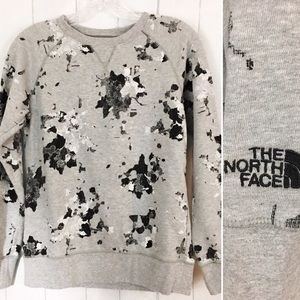 The North Face Pullover Sweatshirt Fun Pattern